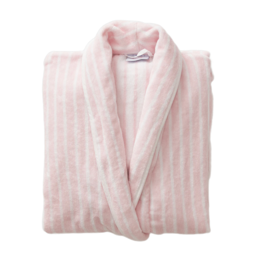 Weezie Pink Striped Robe