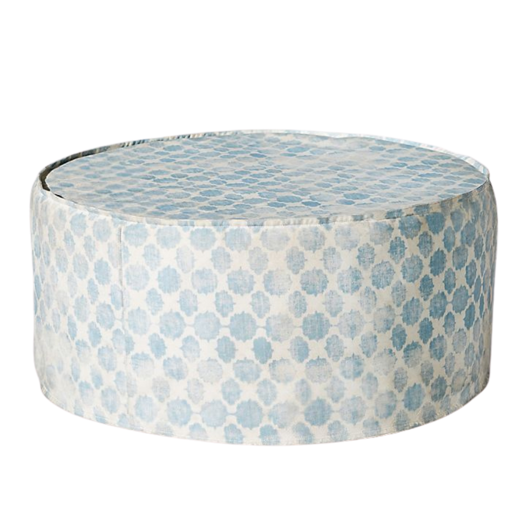 Anthropologie Mod Fret Clive Indoor/Outdoor Ottoman