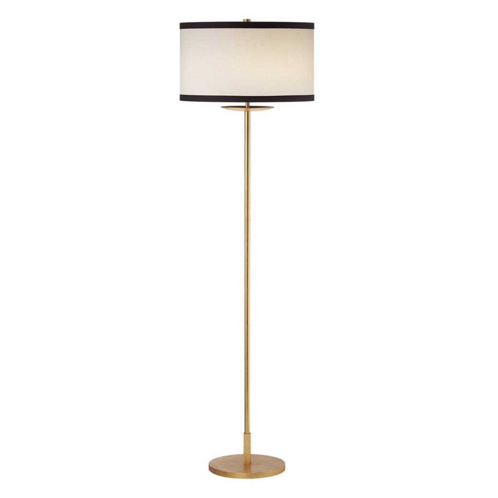 KATE SPADE NEW YORK WALKER MEDIUM FLOOR LAMP IN GILD
