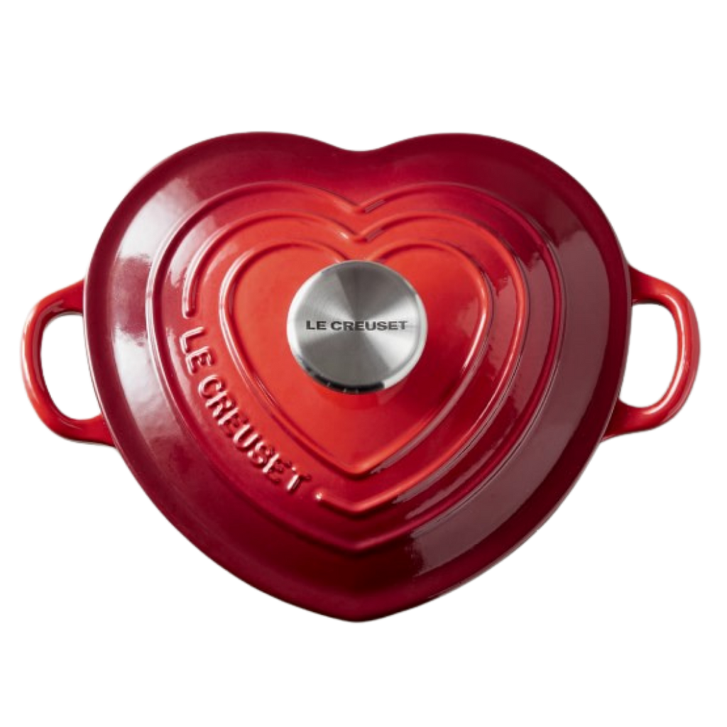 Le Creuset Ennameled Cast Iron Shallow Heart