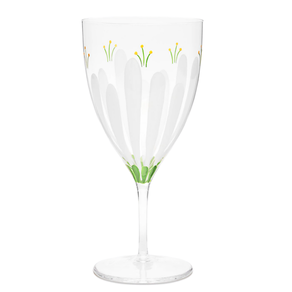 TORY BURCH SPRING MEADOW WATER GLASS
