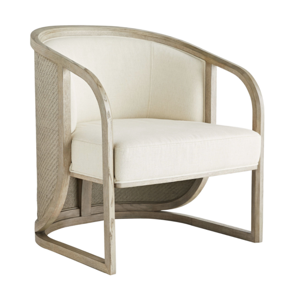 Deco inspired lounge chair