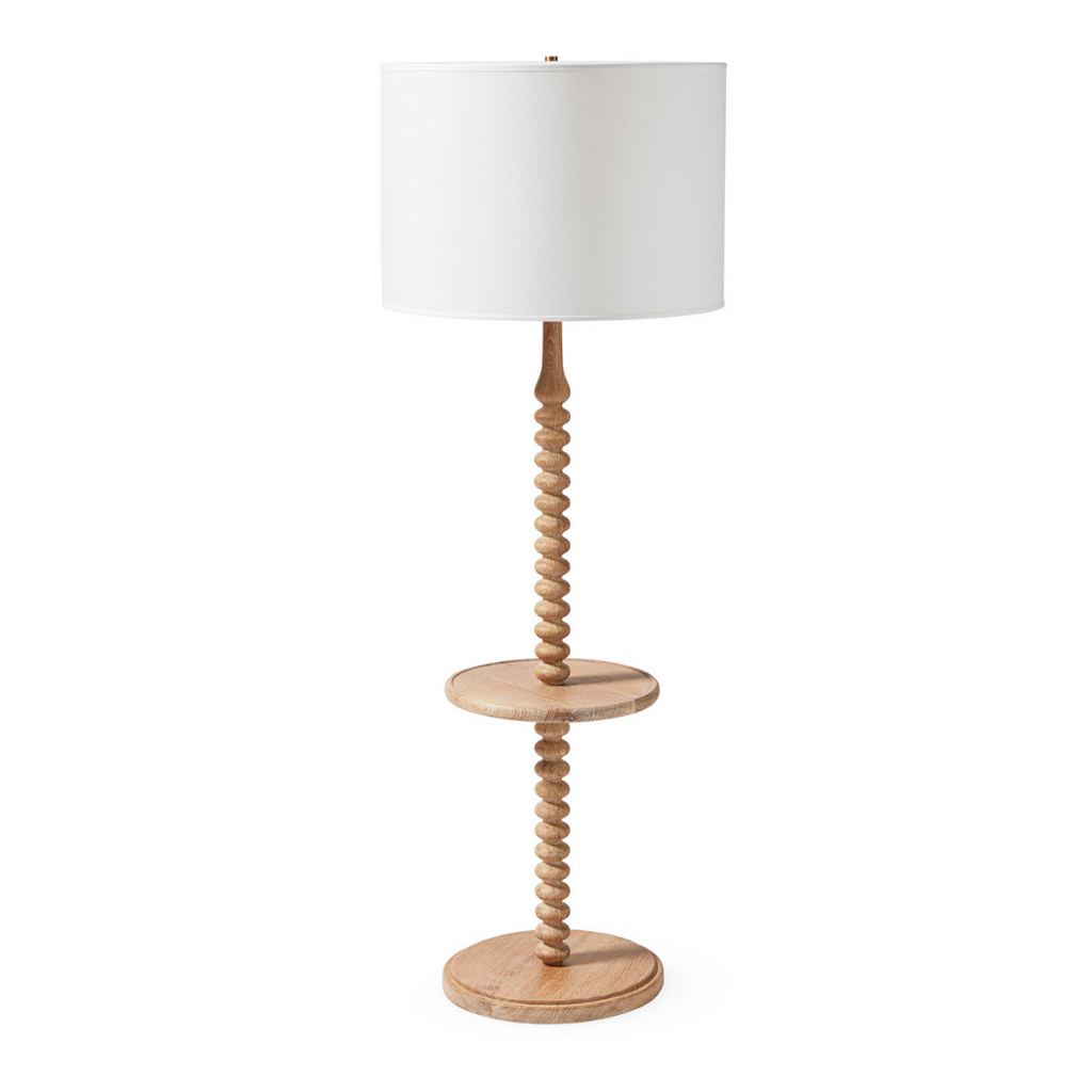 Serena & Lily Spindle Springview Floor Lamp