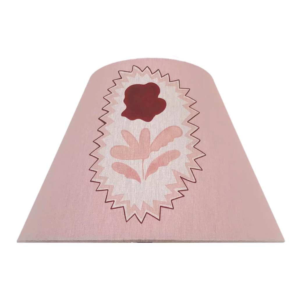 Ottoline Pink Flowers Lampshade