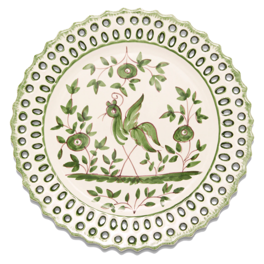 TORY BURCH OISEAU SALAD PLATE, SET OF 4