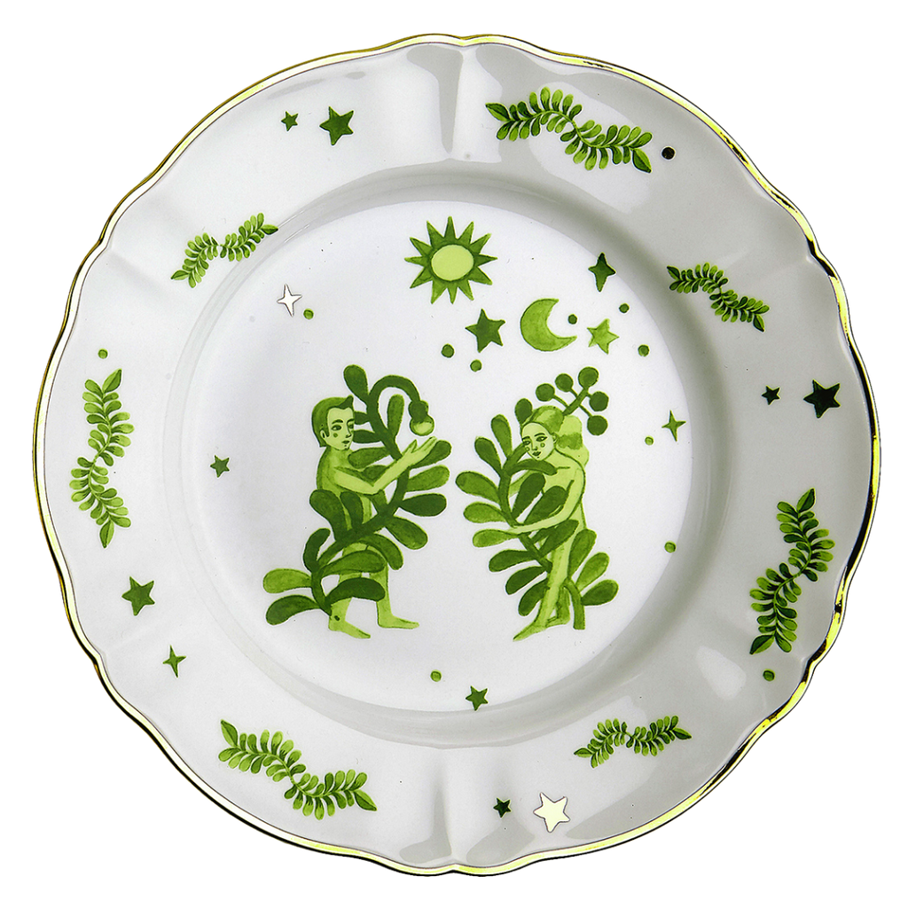 FUNKY TABLE DINNER PLATE – WOMAN AND MAN