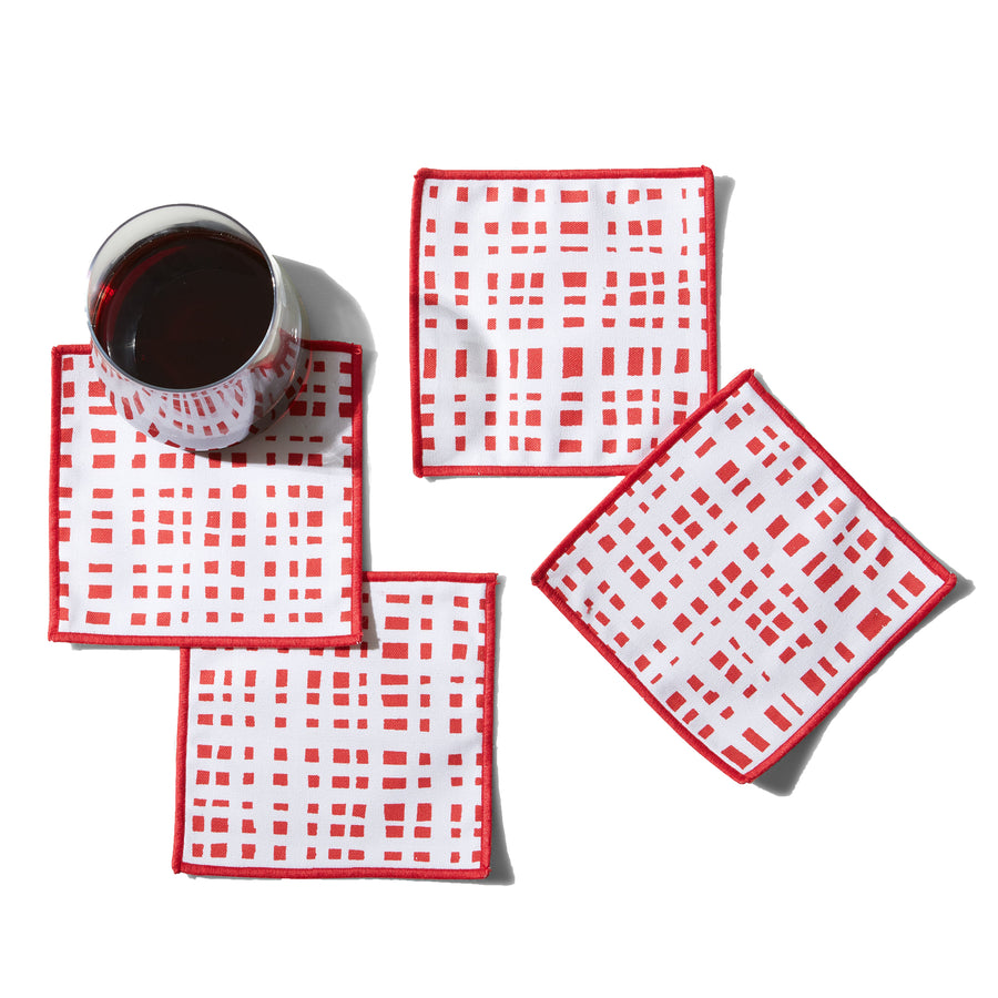 Ginger Cranberry Cocktail Napkins