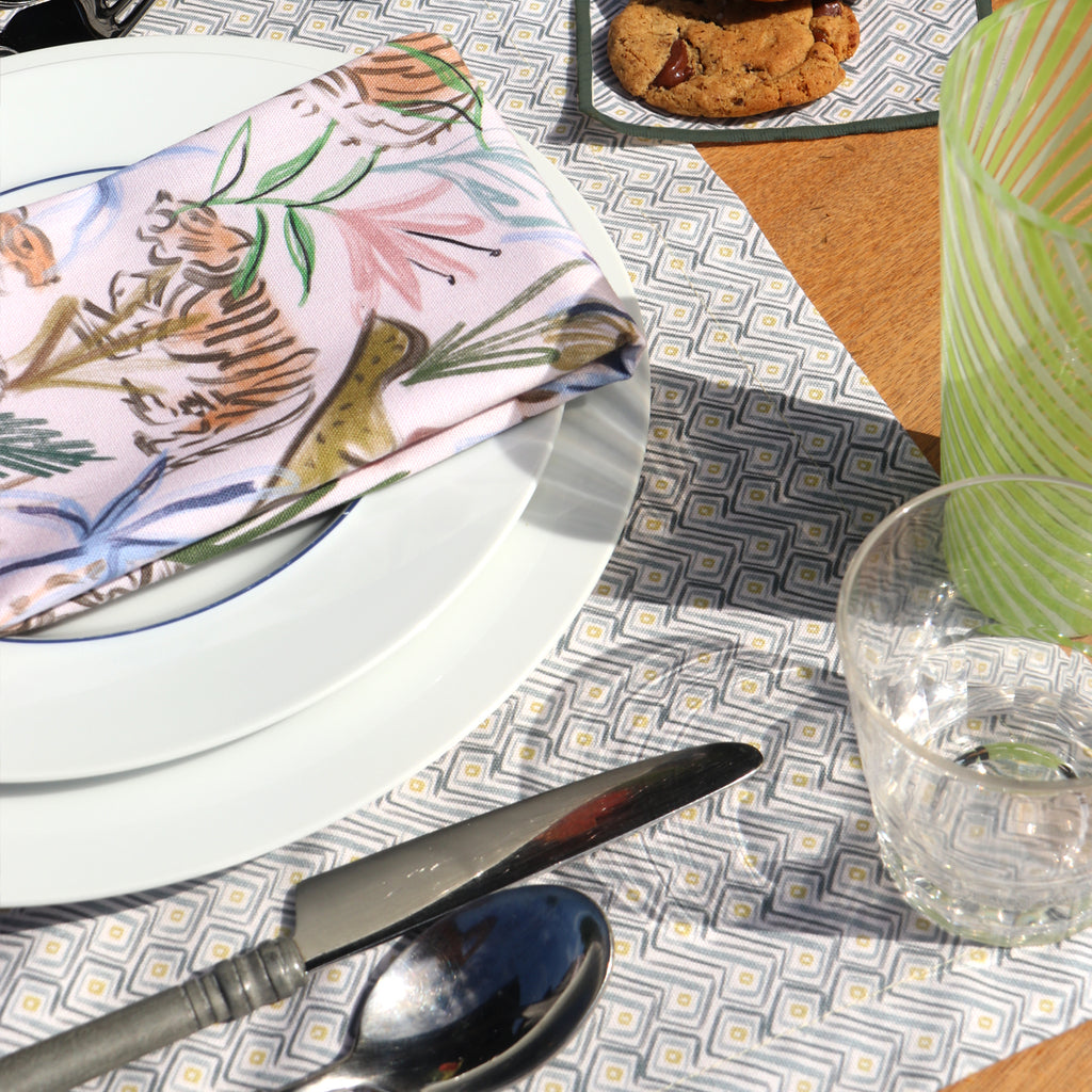 Frida Napkin and Dixon Placemat