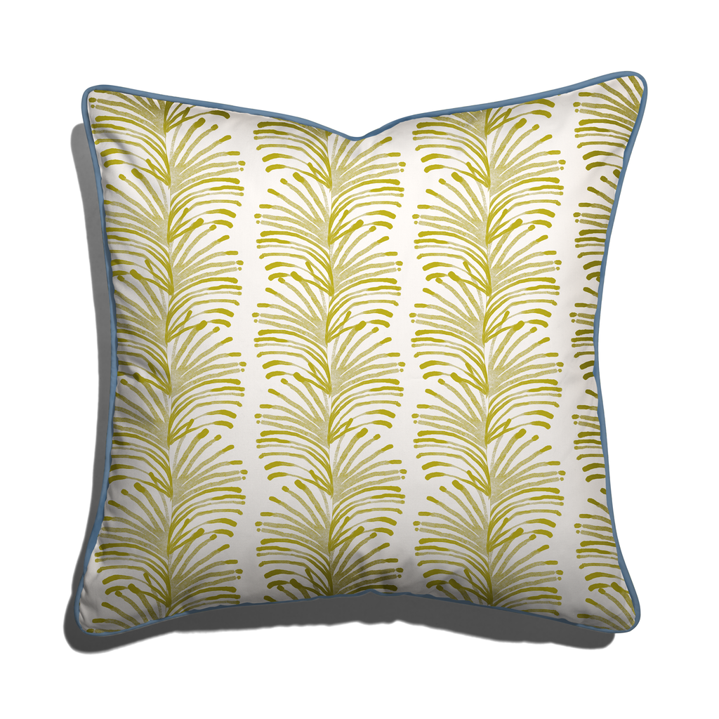 Emma Chartreuse Pillow