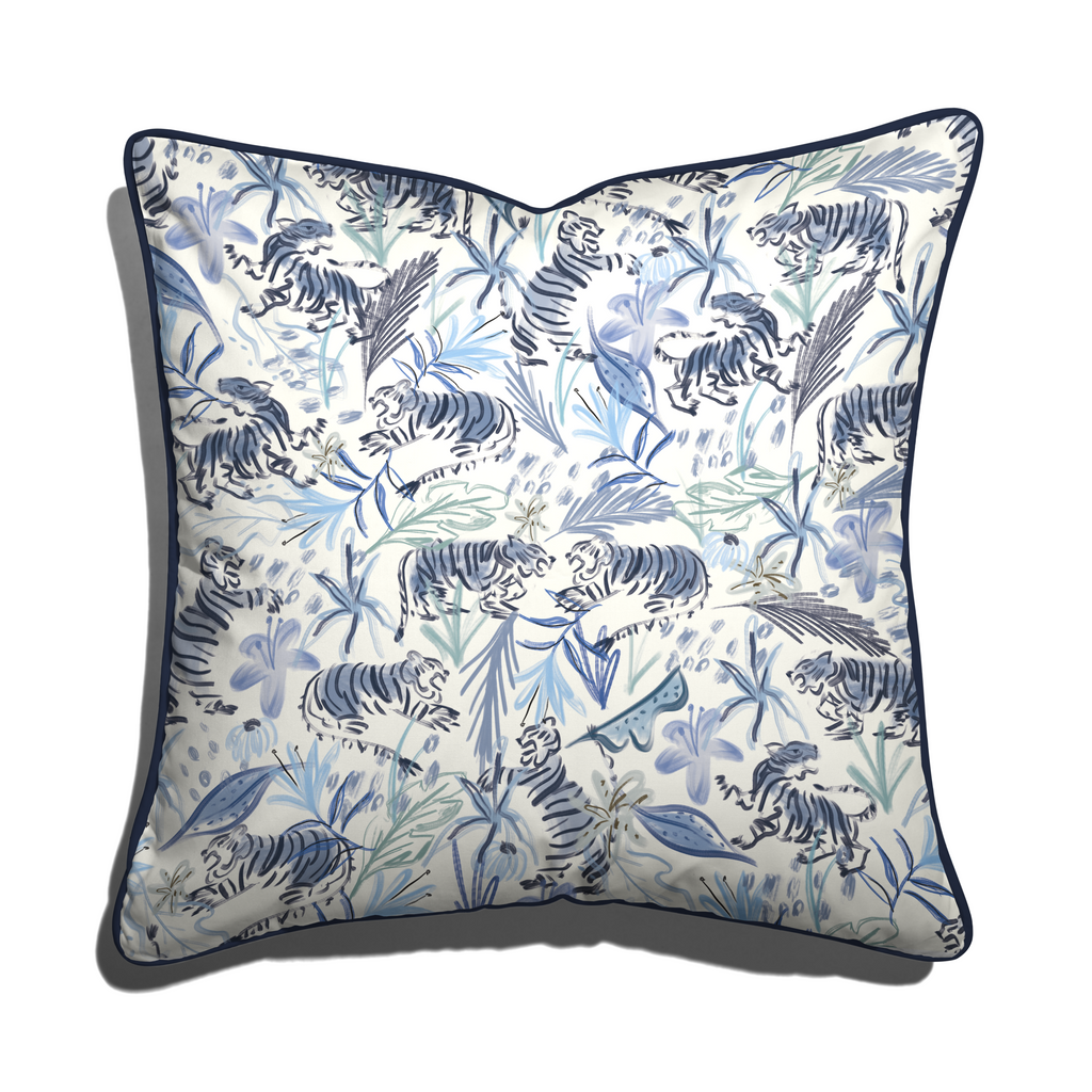 Frida Blue Pillow