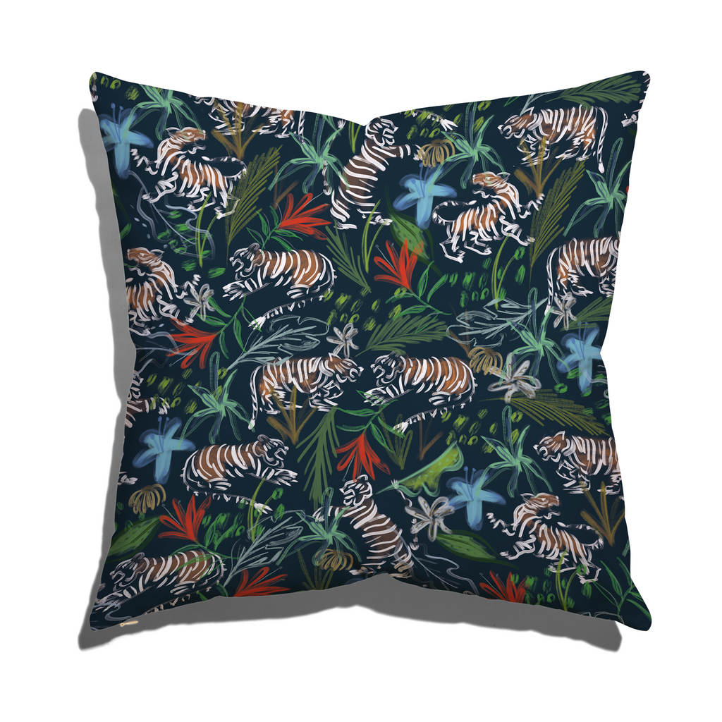 Frida Midnight Pillow