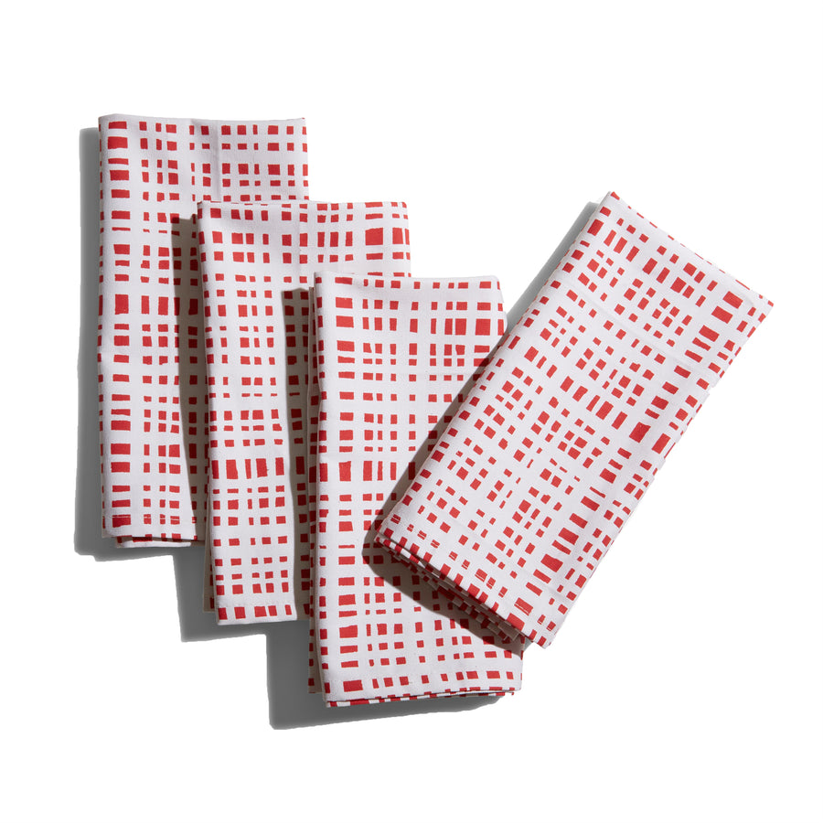 Ginger Cranberry Napkins
