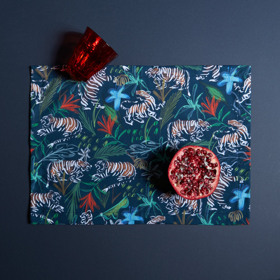 Frida Midnight Placemats