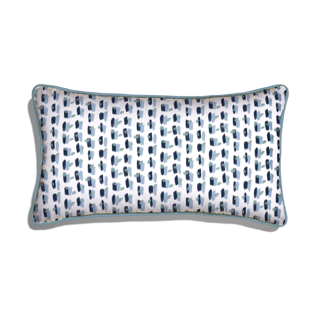 Poppy Blue Pillow