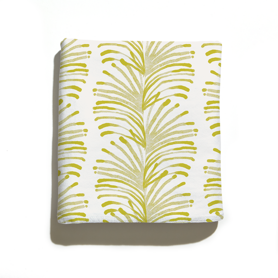 Emma Chartreuse Tablecloth