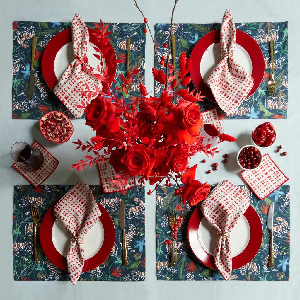 Ginger Cranberry Holiday Table
