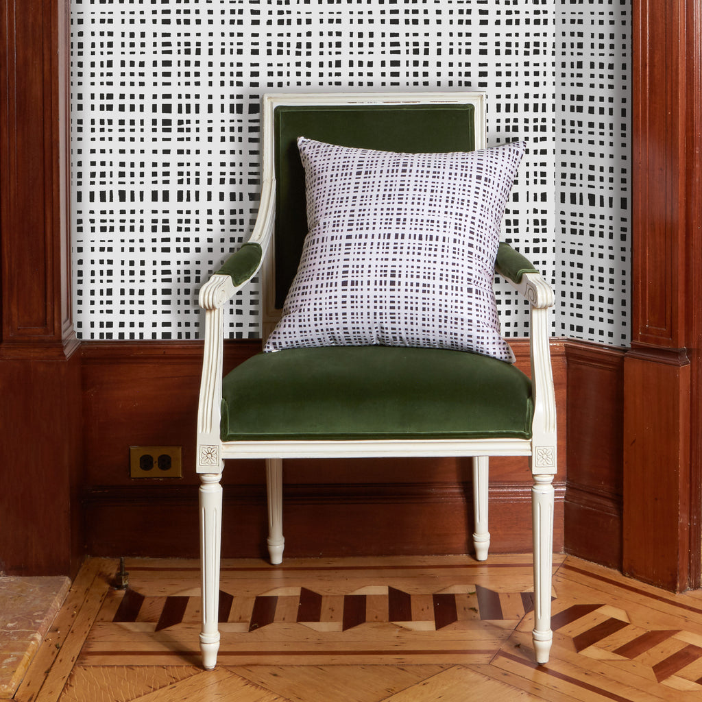 Ginger Wallpaper and Chair