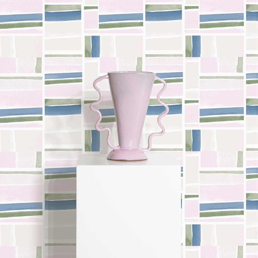 Judy Wallpaper and Vase