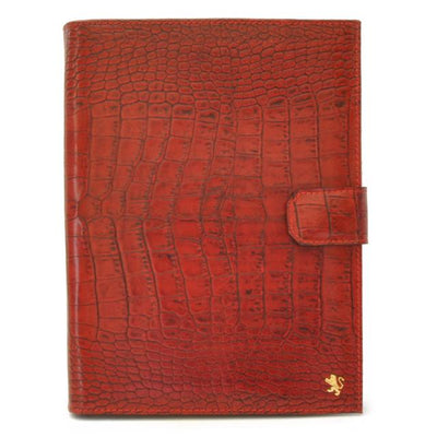 Pratesi Unisex Italian Leather Andrea del Sarto Portfolio Notepad Holder in Cow Leather