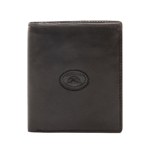 bfb39f454824c6 Tony Perotti Mens Italian Cow Leather Vertical Bifold Square Passcase  Wallet with ID Window Flap Tony Perotti Mens Italian Cow Leather Vertical  Bifold ...