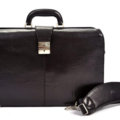 Tony Perotti Benevento Double Compartment Lawyer's Laptop Briefcase