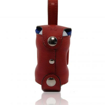Tuscany Leather Exclusive golf balls holder 2 balls