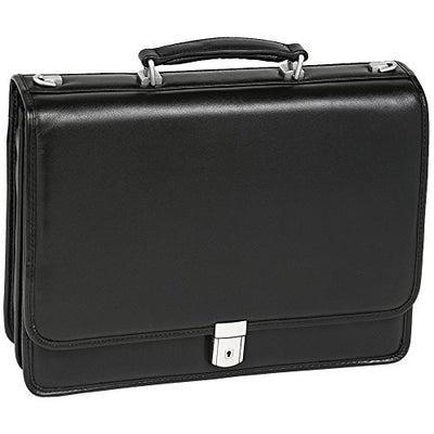 McKlein USA Bucktown Leather Laptop Briefcase