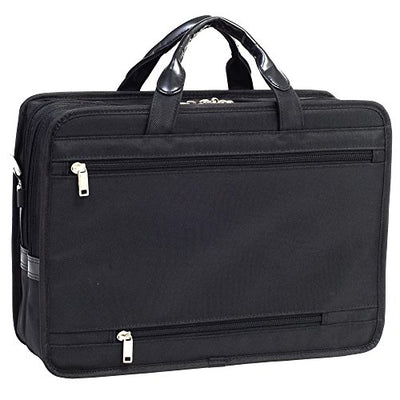 Elston Nylon Double Compartment Laptop Case