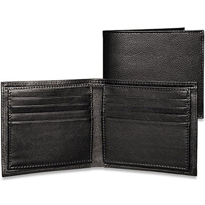 Jack Georges Platinum Special Edition Hipster, Leather Wallet in Black