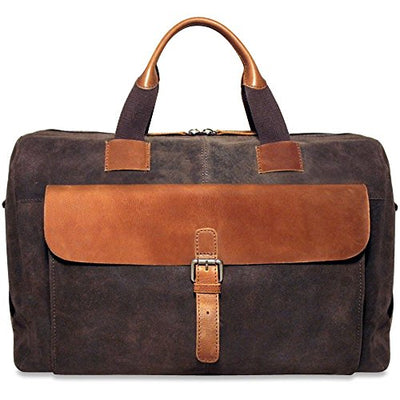 Jack Georges Dakota Travel Briefcase RS718 (BROWN)
