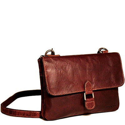 Jack Georges Voyager Wallet On A String Brown