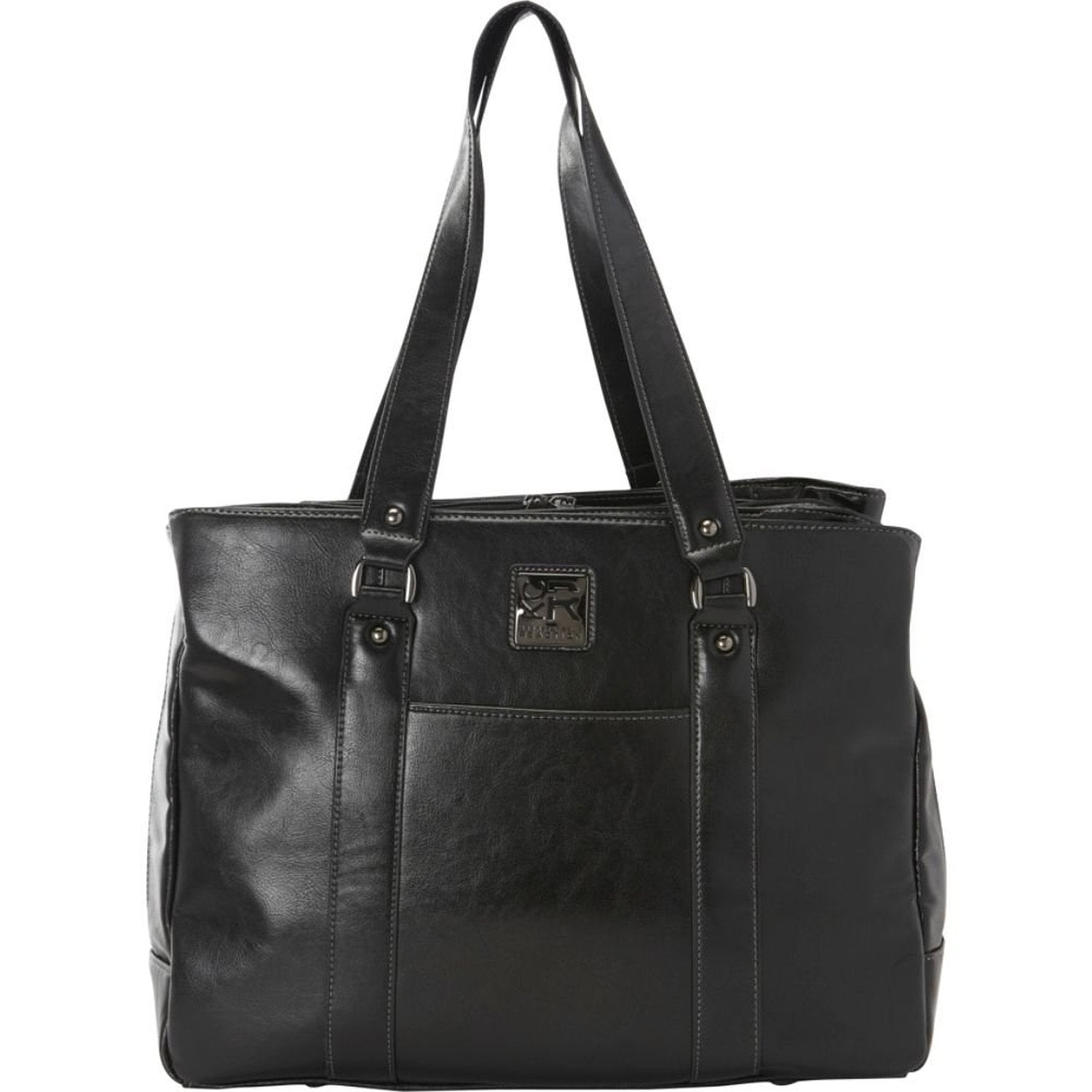 Kenneth Cole Reaction Columbian Leather Dowel Rod Computer Briefcase ...