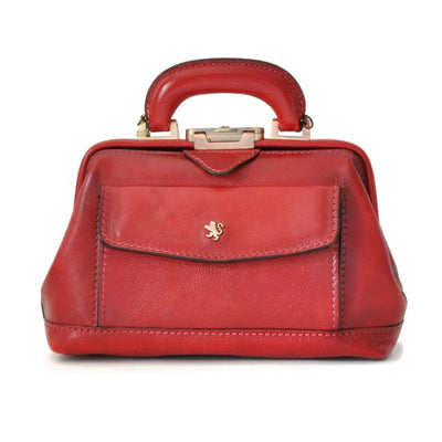 Pratesi Doctor lady bag 562/P in cow leather - Bruce