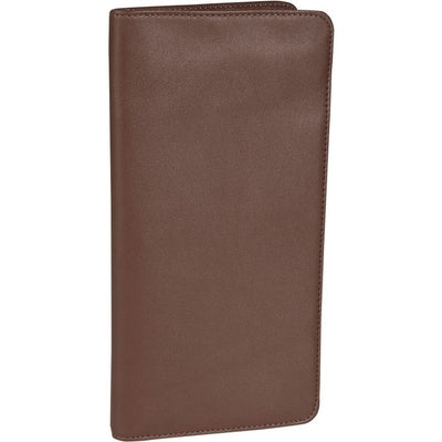 ROYCE Executive Checkpoint Passport Travel Document Wallet in Genuine Leather