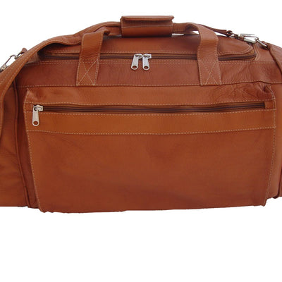 Piel Leather Large Duffel Bag