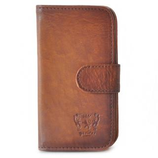 Pratesi Italian Leather Samsung Galaxy S3 Leather Phone Cover, Brown