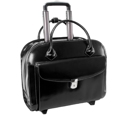 "McKlein Womens GRANVILLE 15.6"" A Wheeled Laptop Case"