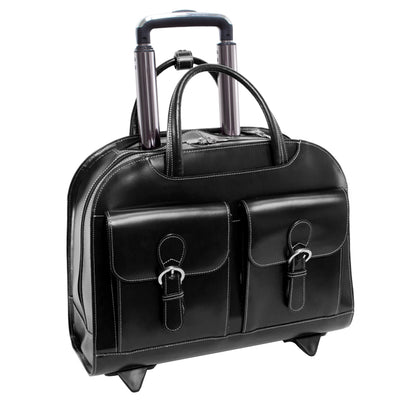 "McKlein Womens DAVIS 15.6"" Wheeled Laptop Case"