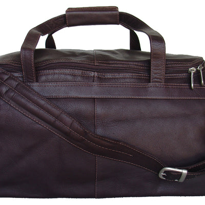 Piel Leather Collection Traveler's Select Small Duffel Bag