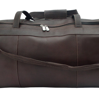 Piel Leather Traveler's Select Large Duffel Bag