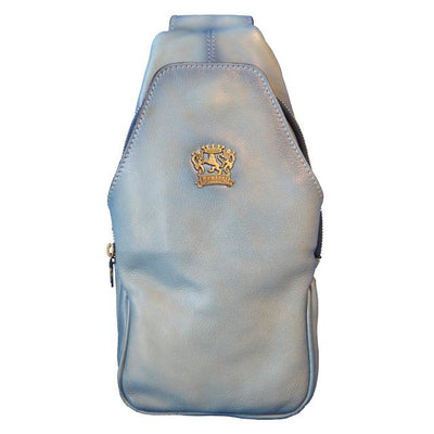 Pratesi Backpack San Quirico d'Orcia in cow leather - Backpack Sky Blue