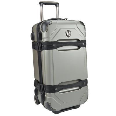 "Traveler's Choice Unisex-Adult Maxporter 24"" Rolling Trunk Luggage"