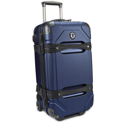 "Traveler's Choice Unisex-Adult Maxporter 24"" Rolling Trunk Luggage in Navy"