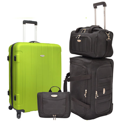 Traveler's Choice Unisex-Adult Rome 4-Piece Nested Luggage Set
