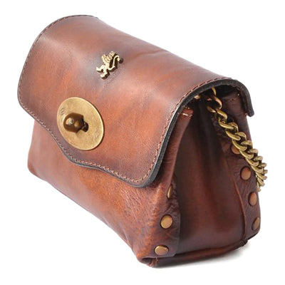 Pratesi Womens Italian Leather S.Bernardo Clutch in Cow Leather