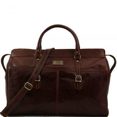 Tuscany Leather Berlin - Travel Leather Bag - Large Size