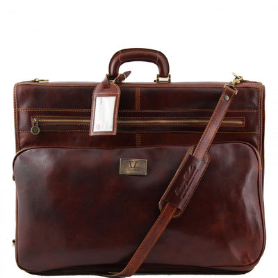 Tuscany Leather Papeete - Garment leather bag