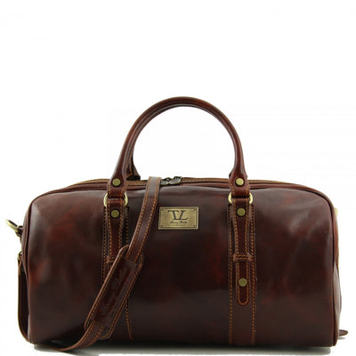 Tuscany Leather Francoforte - Travel Leather Bag - Small Size