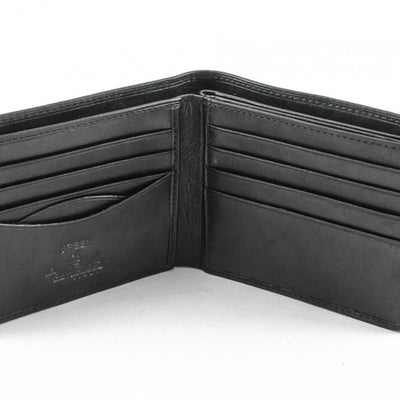 Tony Perotti Classic Italian Leather Bifold Multi Credit Card Wallet