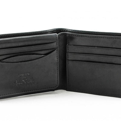 Tony Perotti Italian Leather Classic Bifold Wallet with ID Window Flap